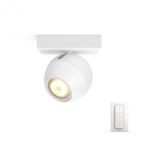 Buckram, LED, 1flg. 250lm, weiß, inkl. Dimmschalter