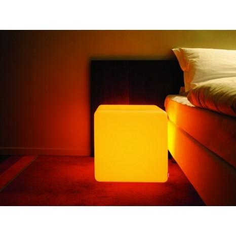 Cube Indoor LED, Farbwechsel, Höhe 45 cm, Fernbedienung
