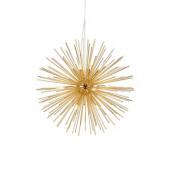 Soleil Ø 72 cm gold 1-flammig rund