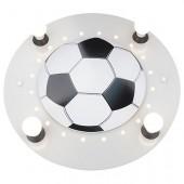 Deckenleuchte Fußball, silber