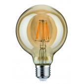 LED Globe 95, E27, 7,5W, 2500K, gold