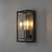 Brindisi Höhe 26 cm schwarz 1-flammig quaderförmig