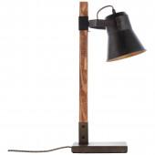 Plow Höhe 55 cm schwarz schwarz 1-flammig rund