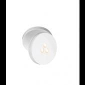 Torno Spot 2 Breite 8,5 cm weiß 1-flammig rund