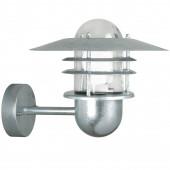 Agger, E27, IP54, Höhe 20 cm, metallisch