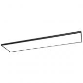 LED Panel Square 90 Länge 89,2 cm schwarz 1-flammig rechteckig