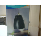 Sottluce Höhe 28 cm schwarz 1-flammig oval B-Ware