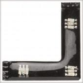 FixLED 90°-Connector Breite 4,7 cm schwarz 3-flammig eckig