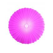 Stoffschirm Ø 80 cm pink rund