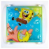 SpongeBob 38 x 38 cm bunt 1-flammig quadratisch