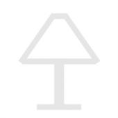 Jim Länge 80,5 cm metallisch 4-flammig rechteckig