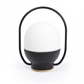 Take Away LED, aufladbar, schwarz, 3W, 3000K