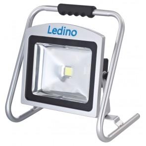 LED-Akkustrahler 50W Köpenick 509, 8,8 Ah, sillber