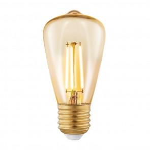 E27, LED, ST48, 3,5W, Amber, 2200K,  Ø 48 cm