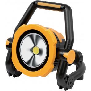 Mobile Akku LED-Leuchte Höhe 26 cm gelb 1-flammig rund