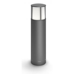 Stock, LED, IP44, Höhe 40 cm, anthrazit