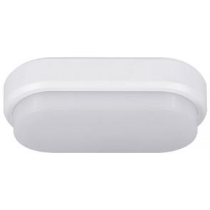 Bulkhead Oval Länge 21 cm weiß 1-flammig oval