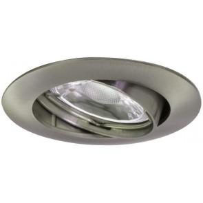 LED Einbauleuchte Downlight Ø 8,2 cm metallisch 1-flammig rund