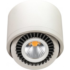 LED Aufbaustrahler, Weiß