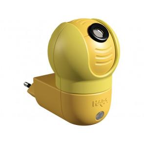Traumwichtel gelb 1-flammig kugelförmig