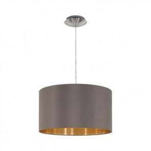 Maserlo, Ø 38 cm, Cappuccino-Gold