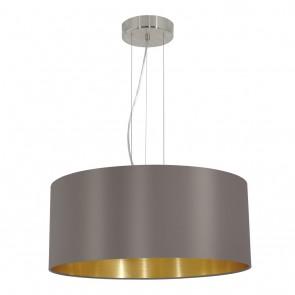 Maserlo, Ø 53 cm, cappuccino-gold