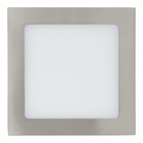 Fueva 1, LED, 17 x 17 cm, 3000K, Nickel-matt