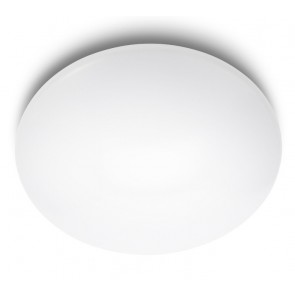 Suede, Ø 38 cm, Weiß