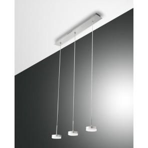 Dunk LED, Aluminium gebürstet, Methacrylat, satiniert, 2100lm, 24W