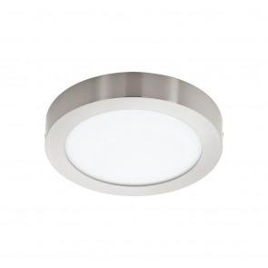 Fueva 1, LED, IP20, Ø 30 cm, nickel-matt