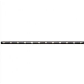 FixLED Basic Länge 90 cm schwarz 1-flammig rechteckig