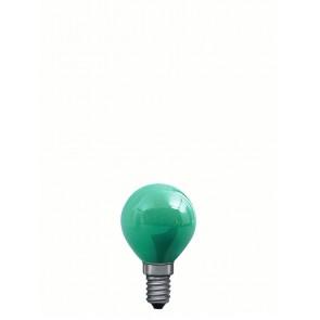 E14 25W 4,5 cm, grün