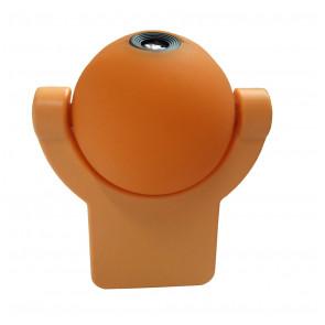 Sunny Ø 8 cm orange 1-flammig kugelförmig