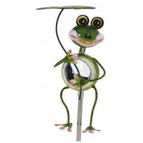 Stehender Frosch, Solar