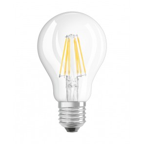 LED RETROFIT A60 6W E27 klar non dim 806 LM BLISTER