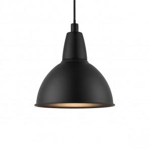 Trude Ø 21,5 cm schwarz 1-flammig rund