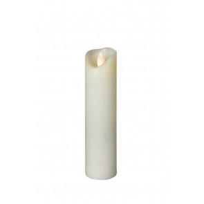 SHINE LED 5x20 elfenb, schmal Echtwachs mit Timer, Fernbedienung exkl.