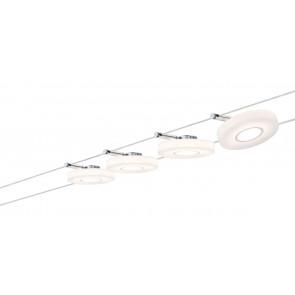 Smart Wire System Länge 10 M weiß 4-flammig rund