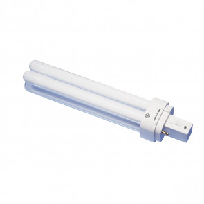 Kompaktleuchtstofflampe TC-D, G24d-2, 18W, warmweiß
