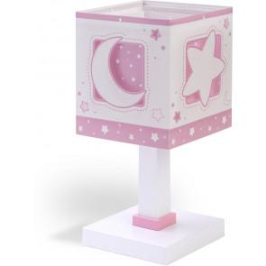 Moonlight Höhe 29 cm rosa 1-flammig viereckig