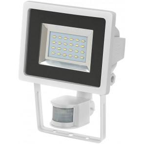 SMD-LED-Leuchte L DN 2405 PIR IP44 mit Infrarot-Bewegungsmelder weiß EEK A