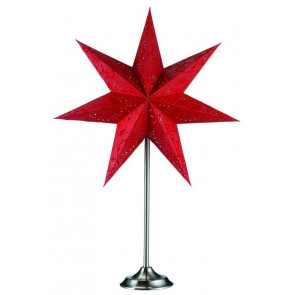 Aratorp Höhe 64 cm rot 1-flammig eckig