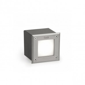Square 18 LED, 3W, 3000K, IP67