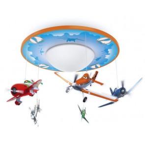 Disney Planes, LED, Ø 29 cm, mehrfarbig