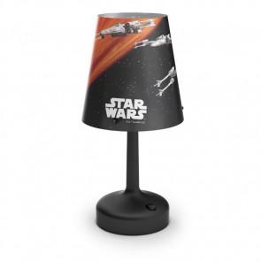 Star Wars Raumschiffe Höhe 26,2 cm schwarz 1-flammig zylinderförmig