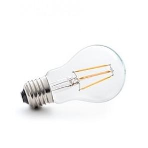 E27 LED Filament warm weiß, klares Glas 4W, 2700K, nicht dimmbar