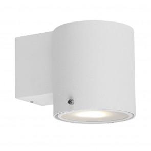 IP S5 Höhe 11 cm weiß 1-flammig rund