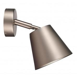 IP S6, Schwenkbar, Gebürsteter Stahl