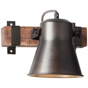 Plow Höhe 25 cm schwarz 1-flammig rund