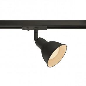 Link Ø 8,5 cm schwarz 1-flammig rund